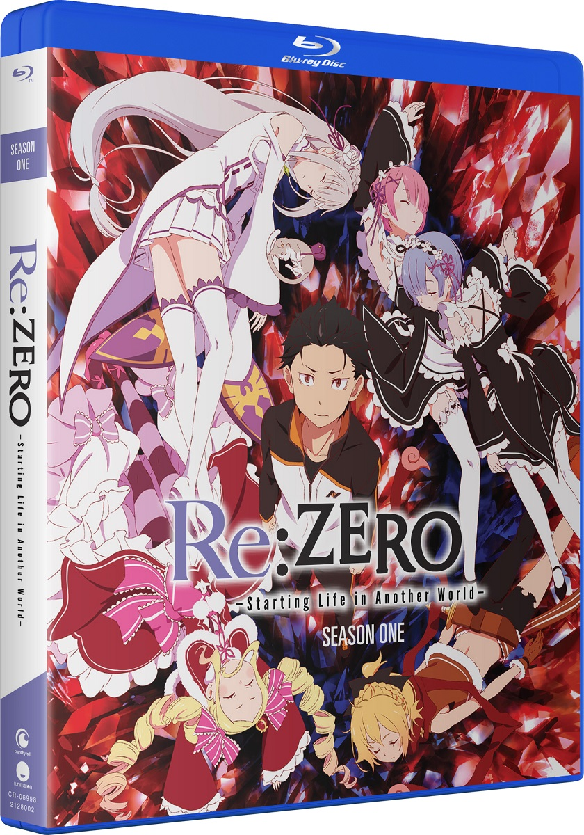 Re:ZERO Starting Life In Another World Season 1 Blu-ray