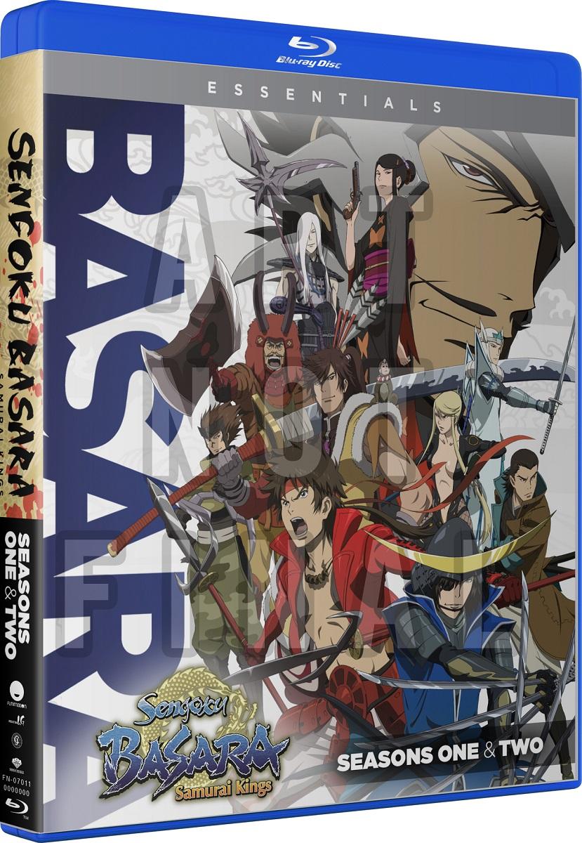 Sengoku Basara Samurai Kings Season 1-2 + OVA Essentials Blu-ray