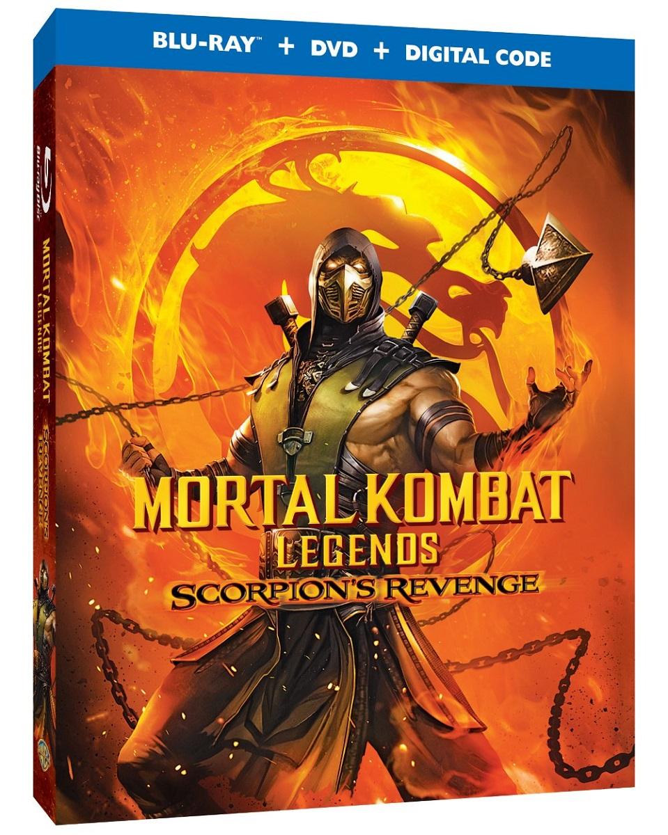 Mortal Kombat Legends Scorpions Revenge Blu-ray