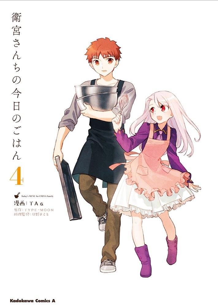 Todays Menu for the Emiya Family Manga Volume 4