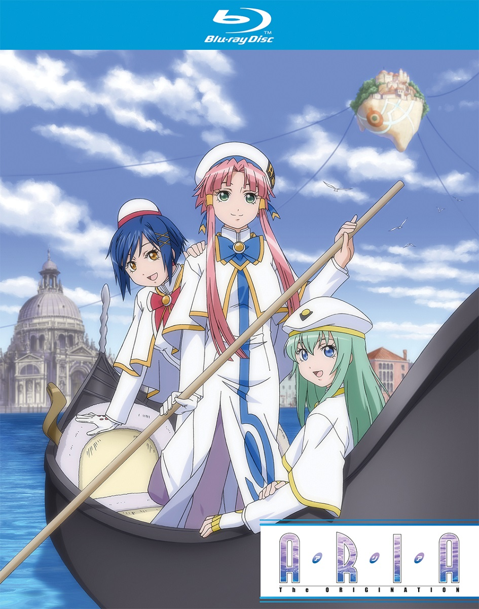 Aria the Origination Season 3 + OVAs Blu-ray