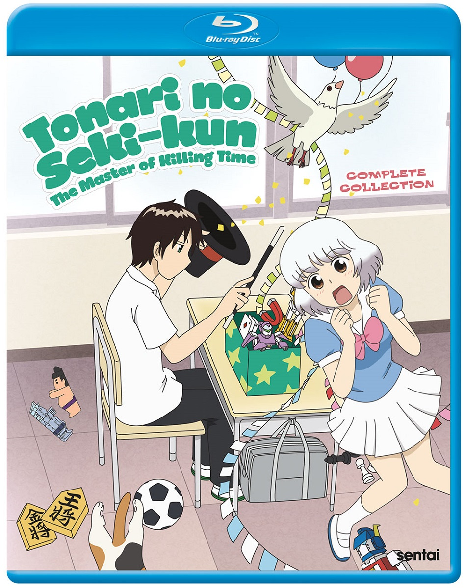 Tonari no Seki-kun The Master of Killing Time Blu-ray