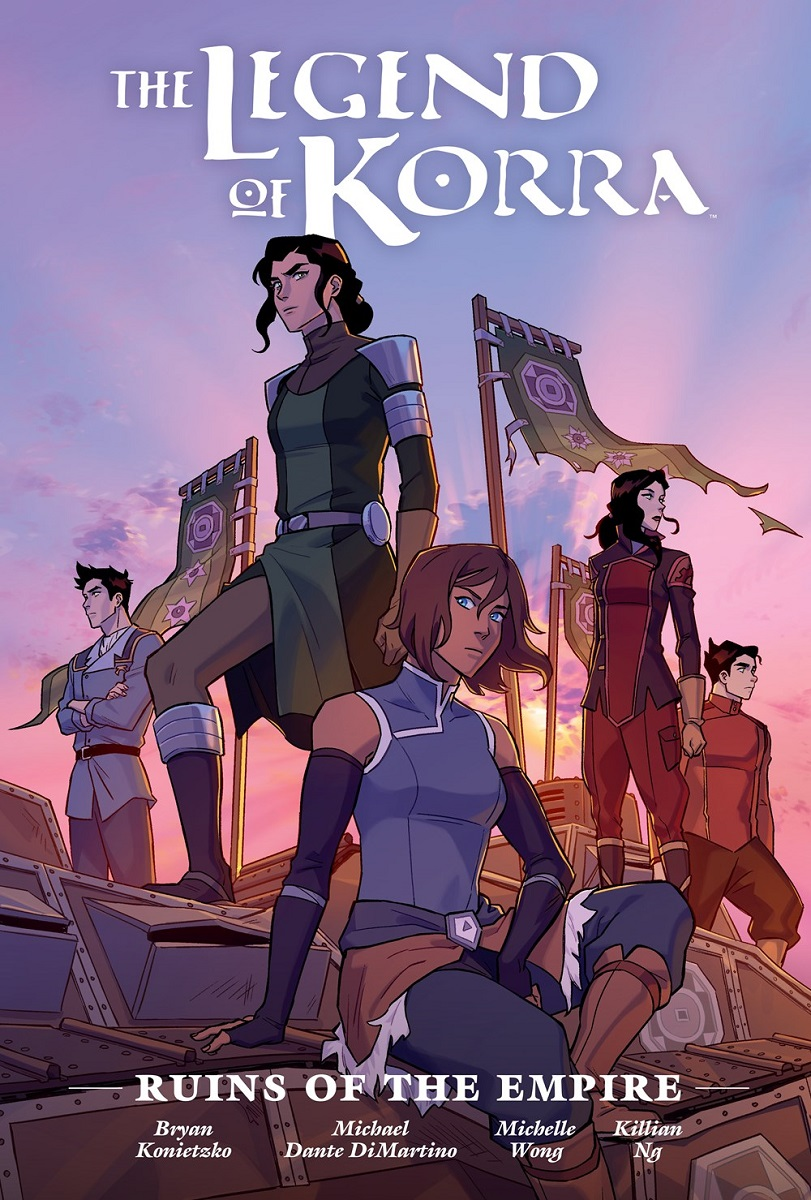 The Legend of Korra Ruins of the Empire Manga Library Edition (Hardcover)