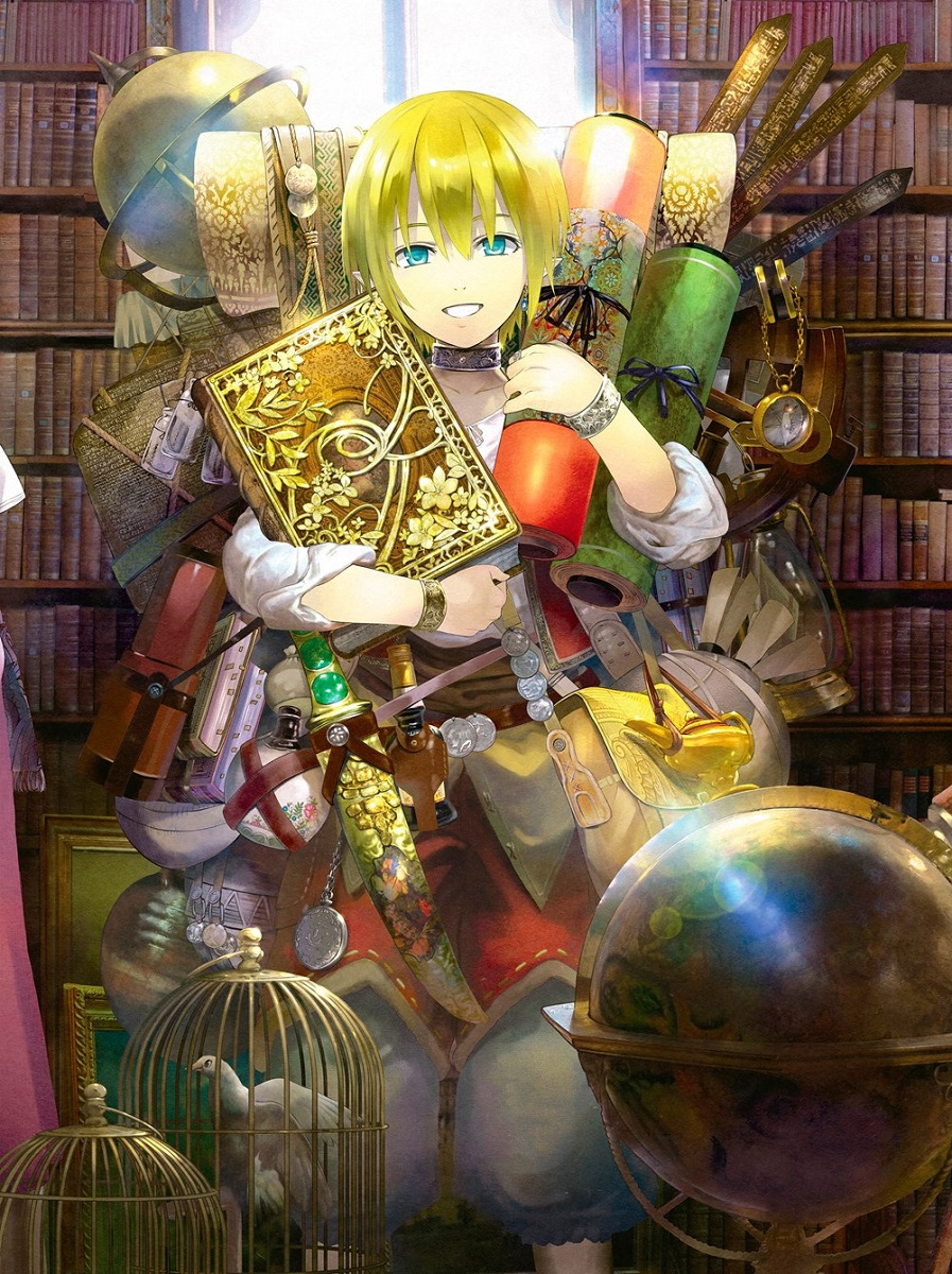 Magus of the Library Manga Volume 4