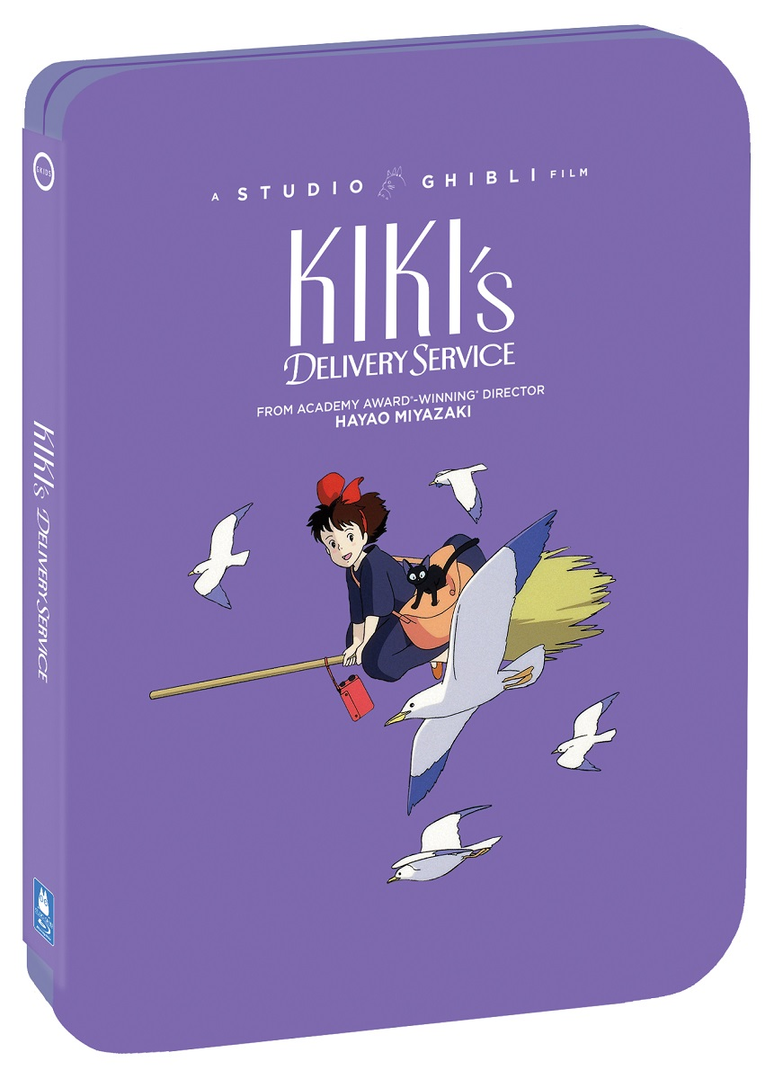Kikis Delivery Service Steelbook Blu-ray/DVD