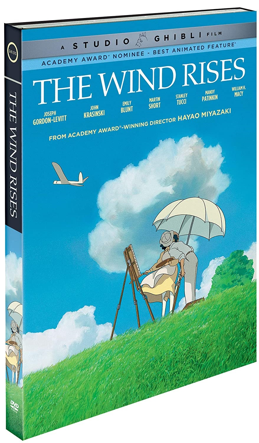 The Wind Rises DVD