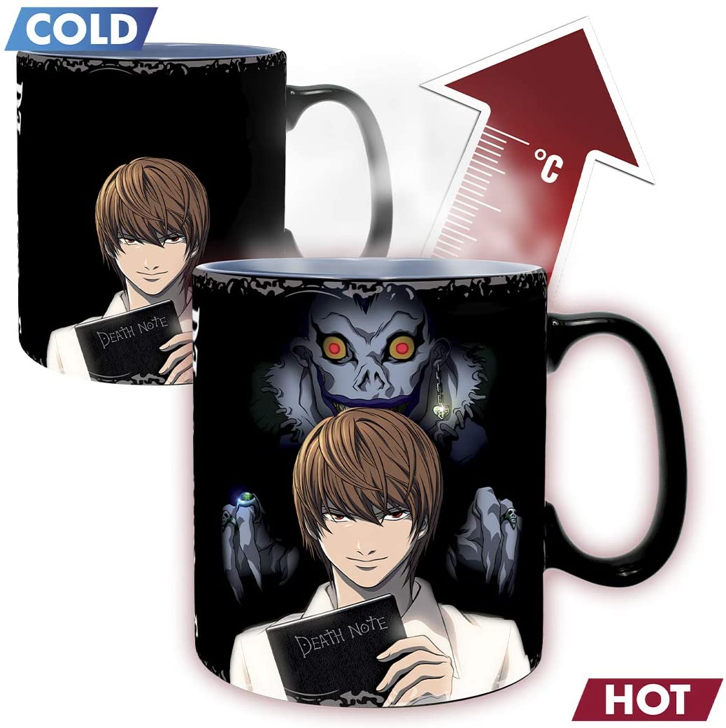 Kira & L Death Note Heat Changing Mug