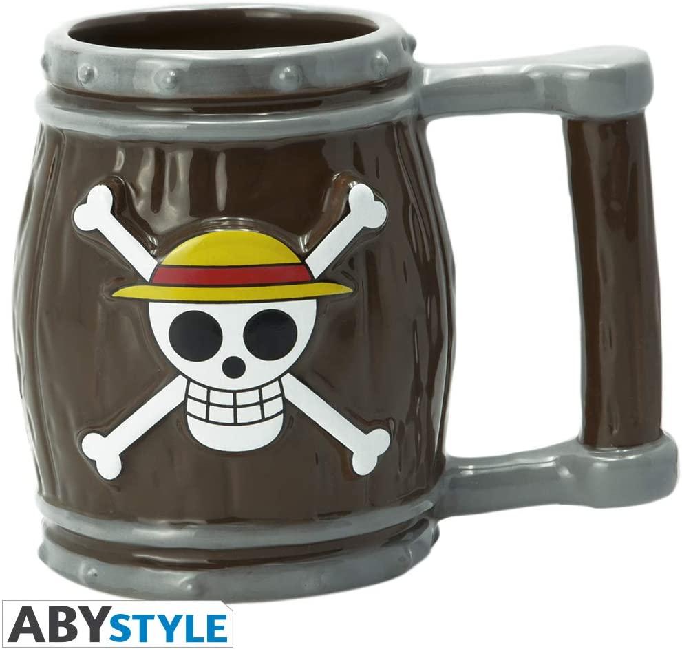 Straw Hat Jolly Roger One Piece 3D Mug