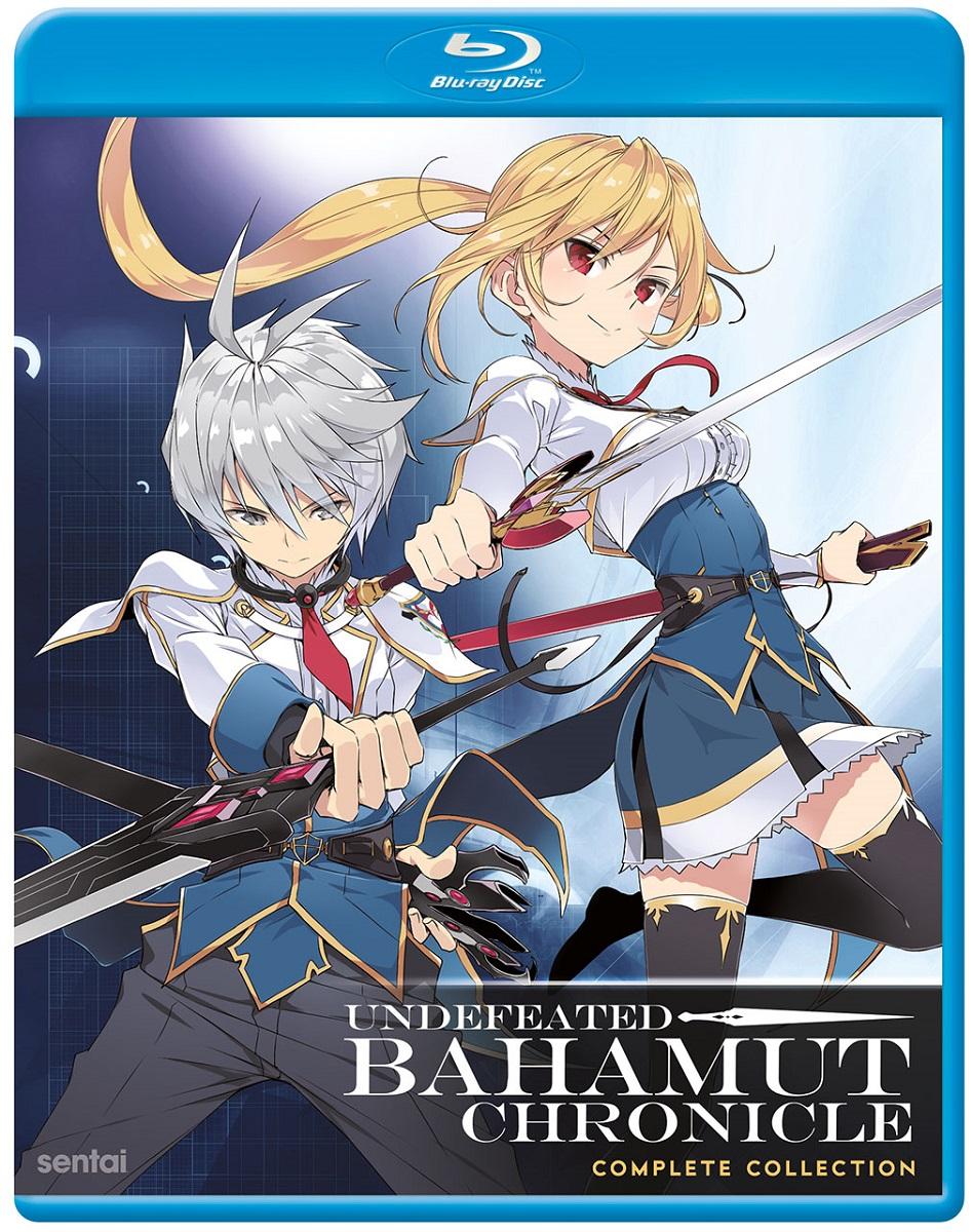 Undefeated Bahamut Chronicle Blu-ray