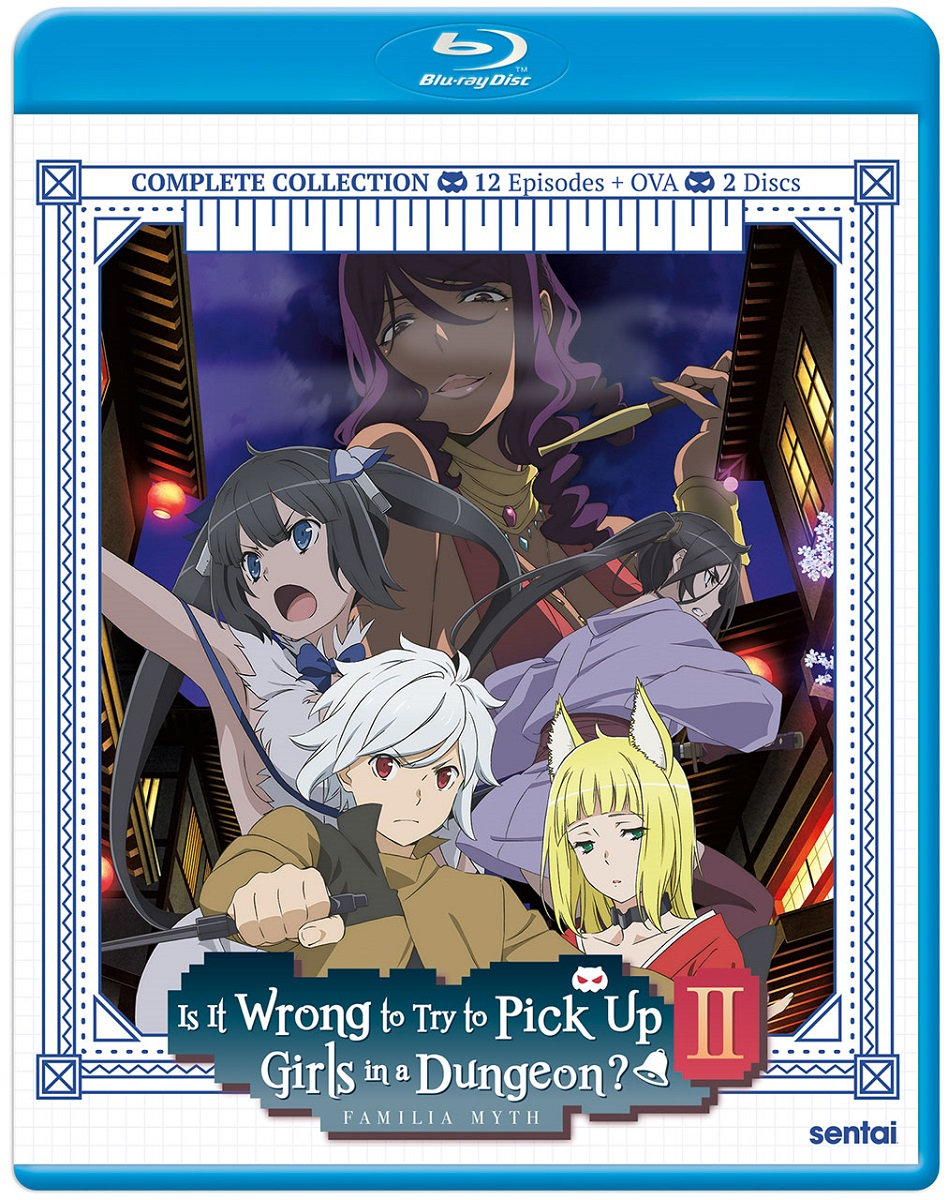 Is It Wrong to Try to Pick Up Girls in a Dungeon?! Season 2 Blu-ray
