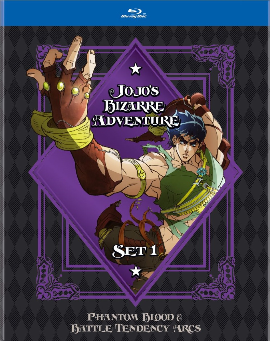 JoJos Bizarre Adventure Set 1 Blu-ray