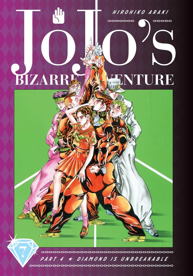JoJos Bizarre Adventure Part 4 Diamond is Unbreakable Manga Volume 7 (Hardcover)