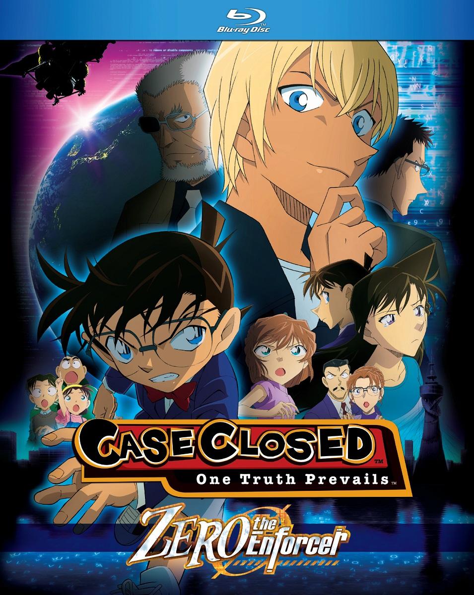 Case Closed Zero The Enforcer Blu-ray