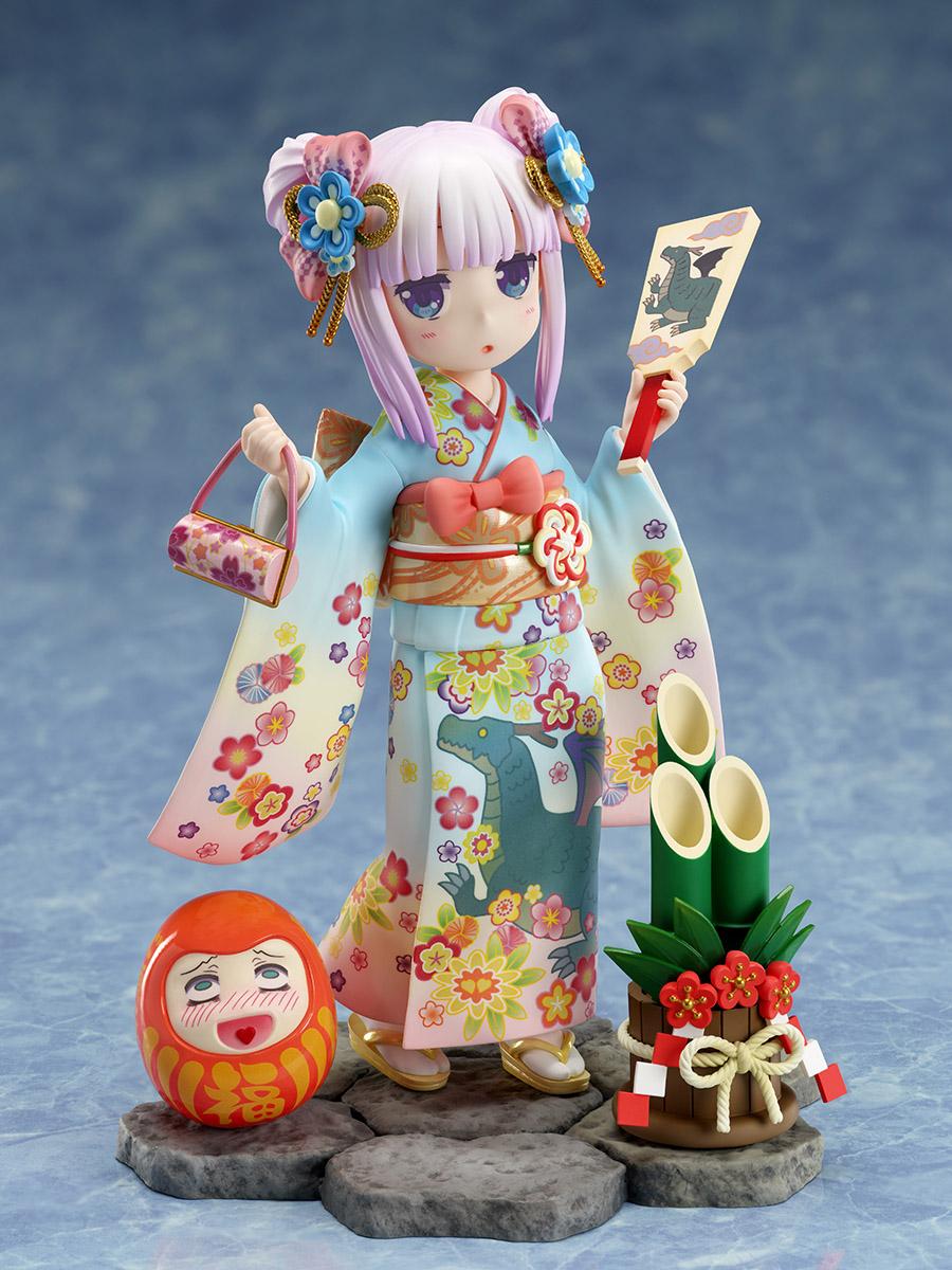 Kanna Kamui Kimono Ver Miss Kobayashis Dragon Maid Figure