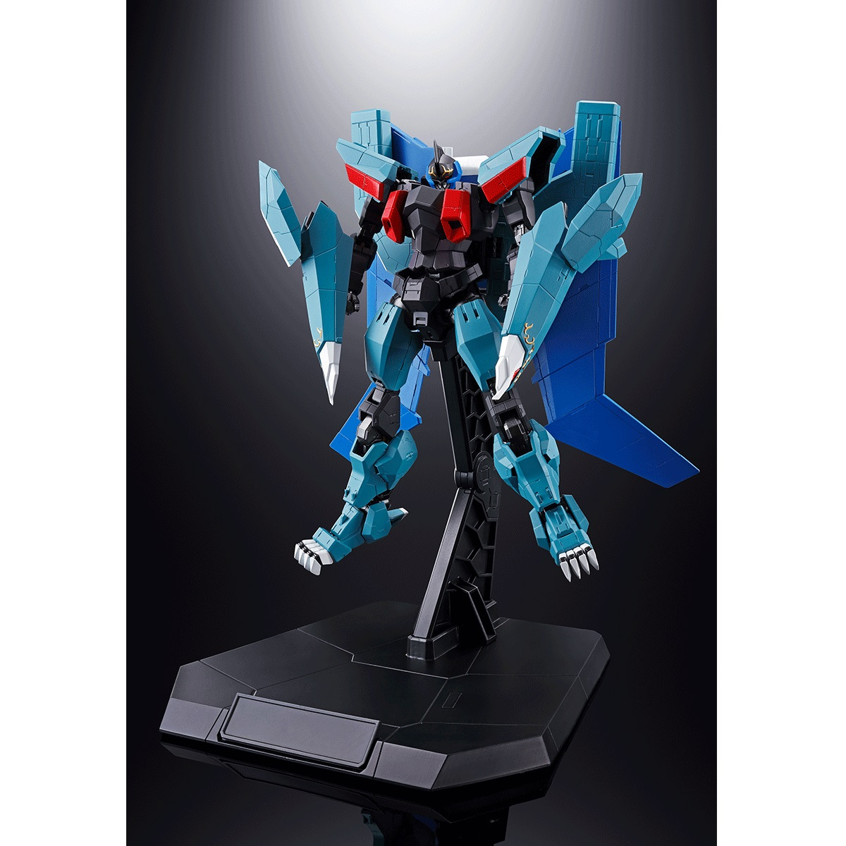 Black Wing Soul of Chogokin Ver Super Beast Machine God Dancouga Figure