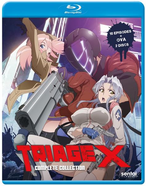 Triage X Blu-ray