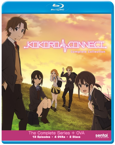 Kokoro Connect Blu-ray