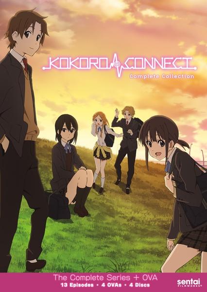 Kokoro Connect DVD