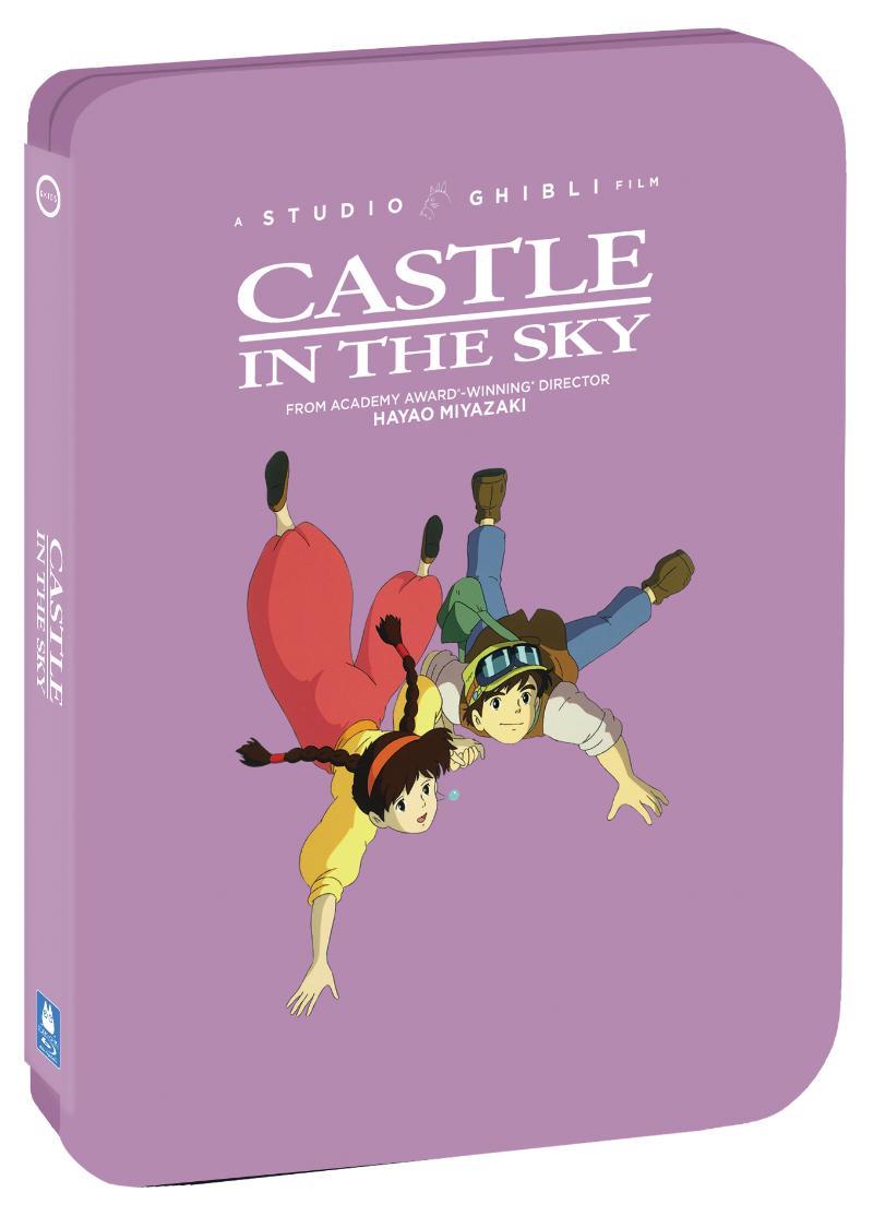 Castle in the Sky Steelbook Blu-ray/DVD