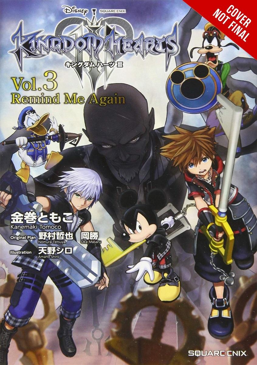 Kingdom Hearts III Novel Volume 3