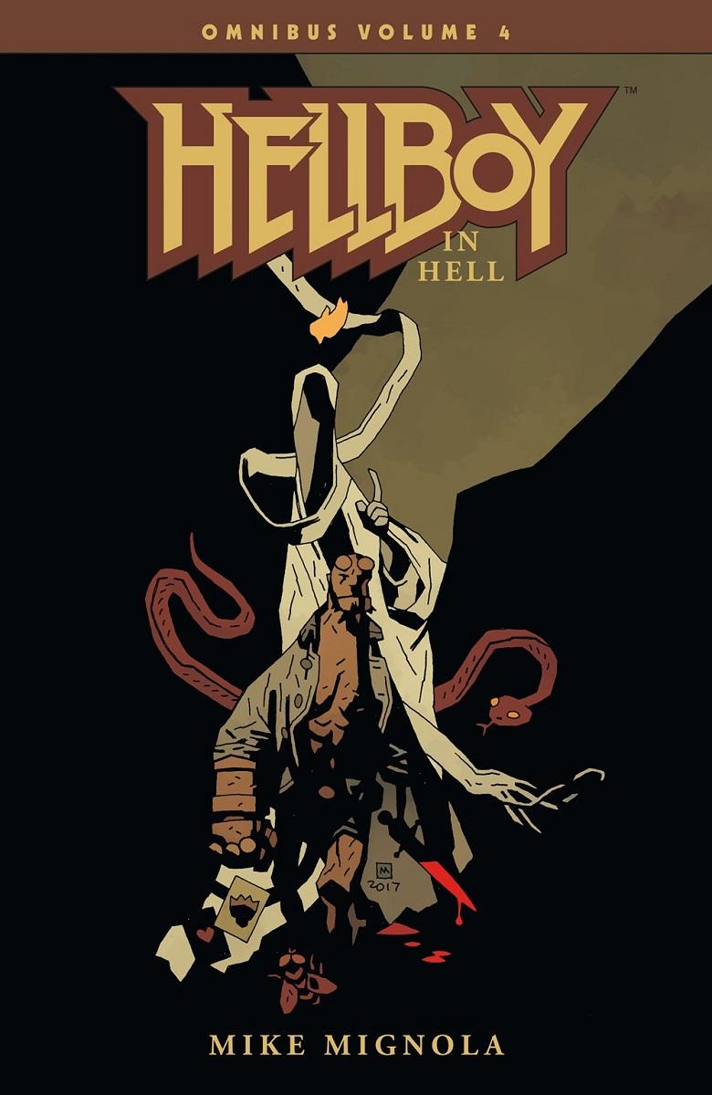 Hellboy Omnibus Volume 4 Hellboy in Hell Graphic Novel