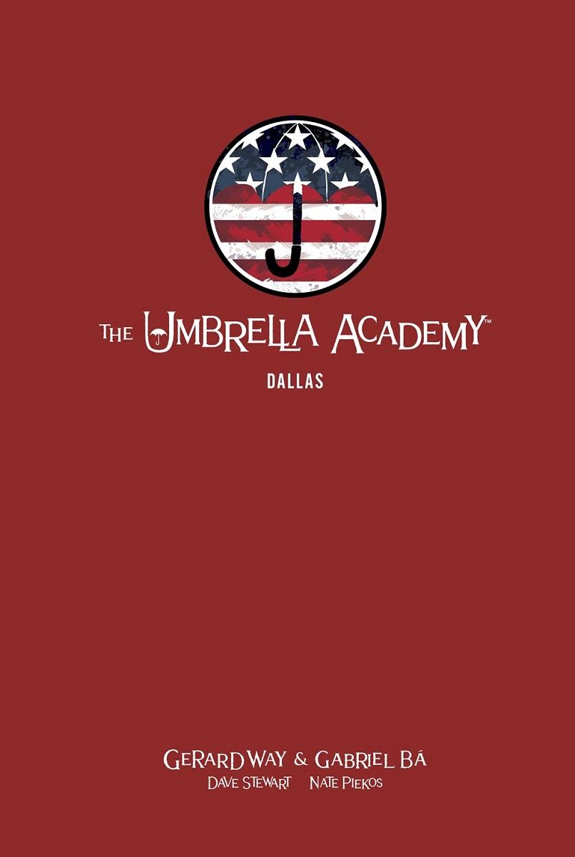The Umbrella Academy Volume 2 Dallas Library Edition Graphic Novel (Hardcover)