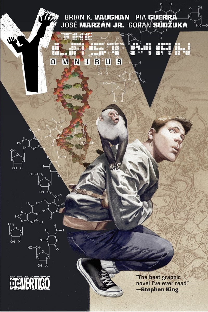 Y The Last Man Graphic Novel Omnibus (Hardcover)