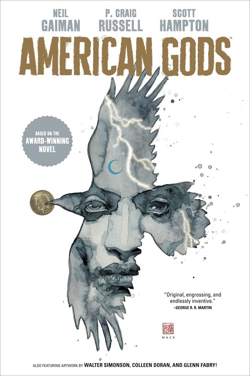 American Gods Volume 1 Shadows Graphic Novel (Hardcover)