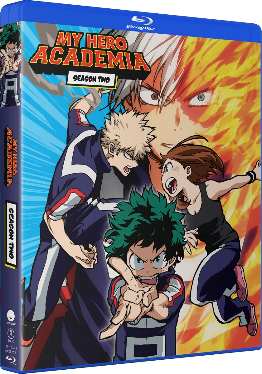My Hero Academia Season 2 Complete Collection Blu-ray