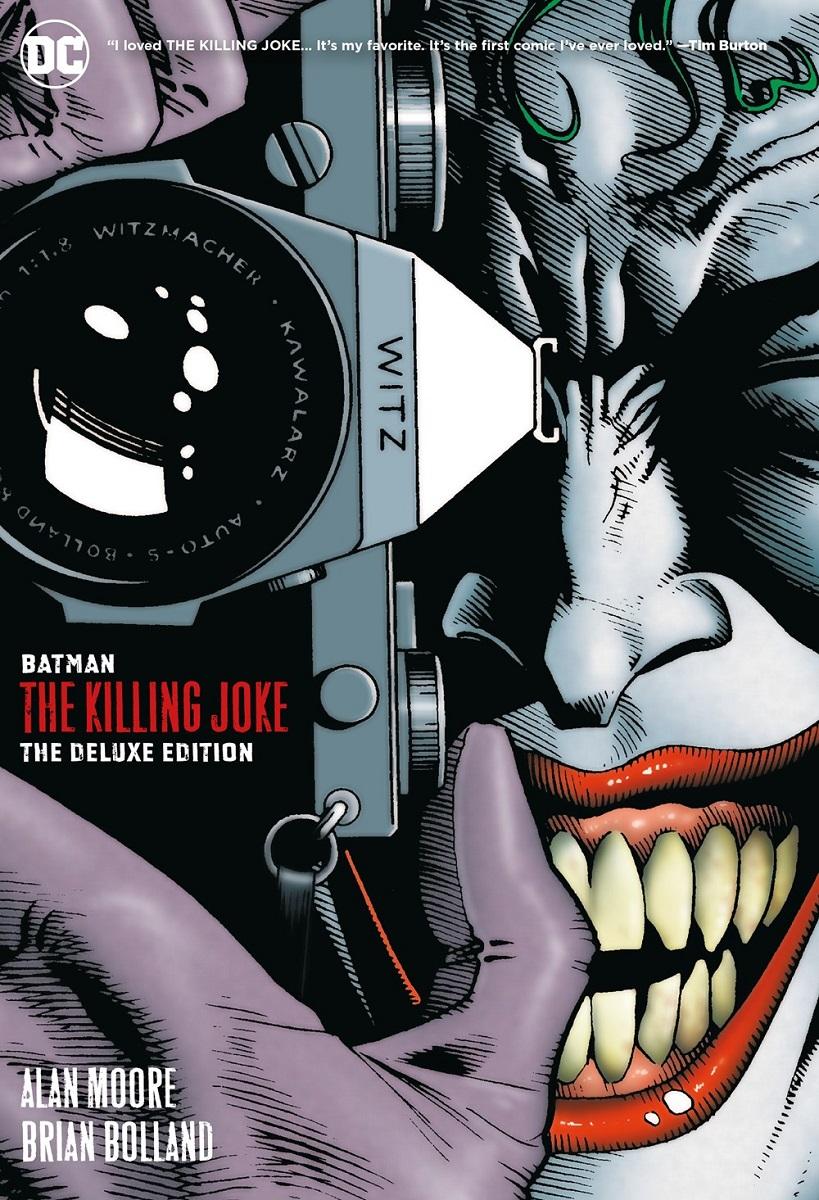 Batman The Killing Joke Deluxe Edition Graphic Novel (Hardcover)