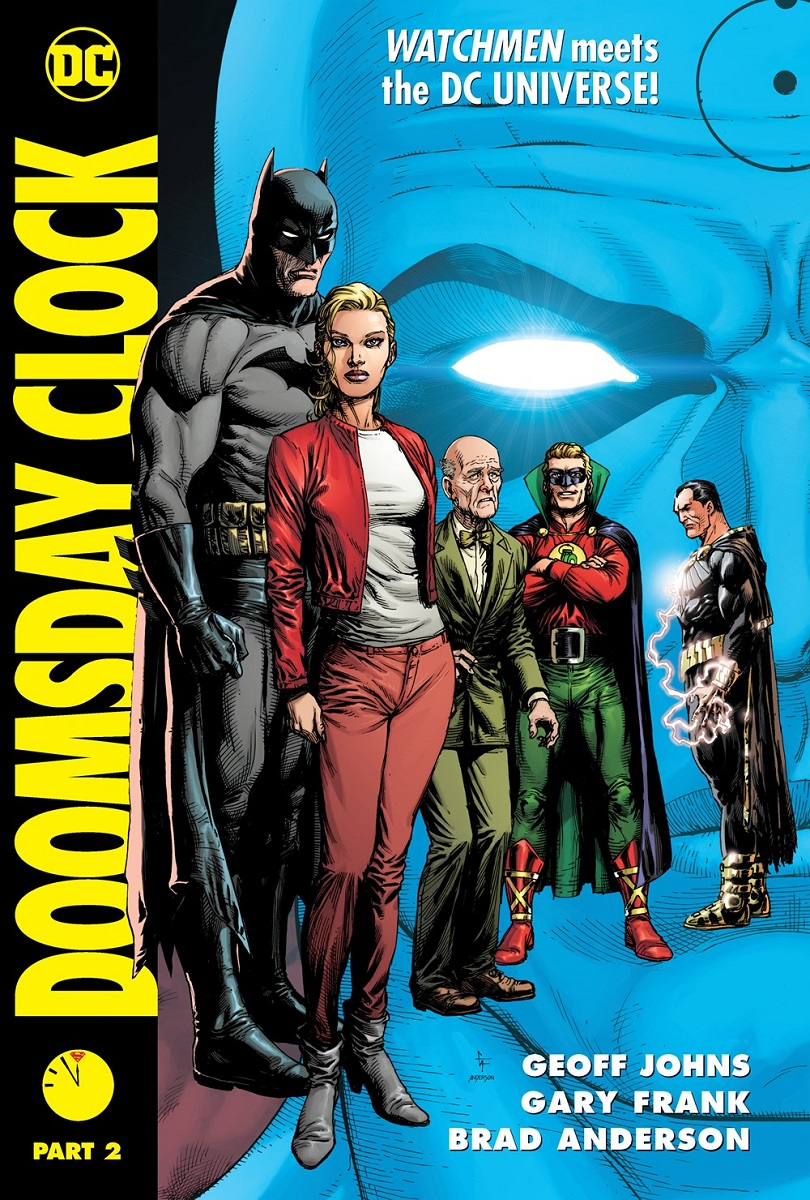 Doomsday Clock Part 2 Graphic Novel (Hardcover)
