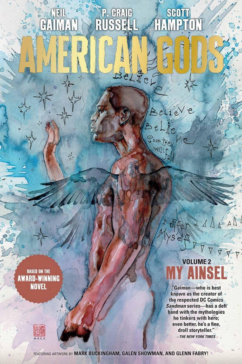 American Gods Volume 2 My Ainsel Graphic Novel (Hardcover)