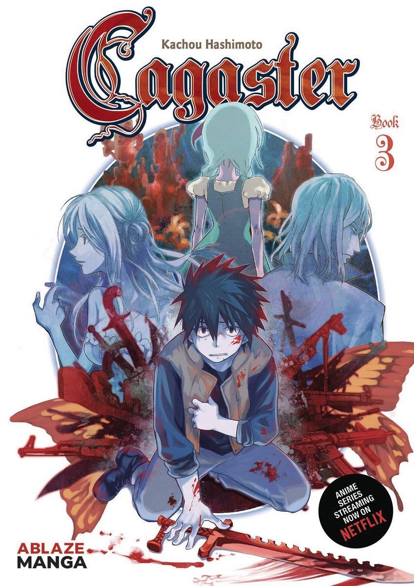 Cagaster Manga Volume 3