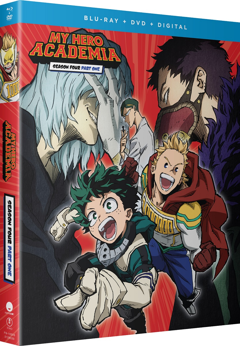 My Hero Academia Season 4 Part 1 Blu-ray/DVD