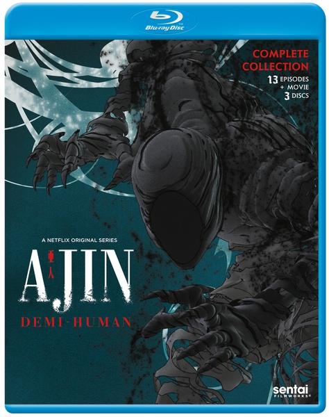 Ajin Demi-Human Season 1 Blu-ray