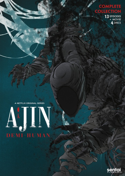 Ajin Season 1 DVD