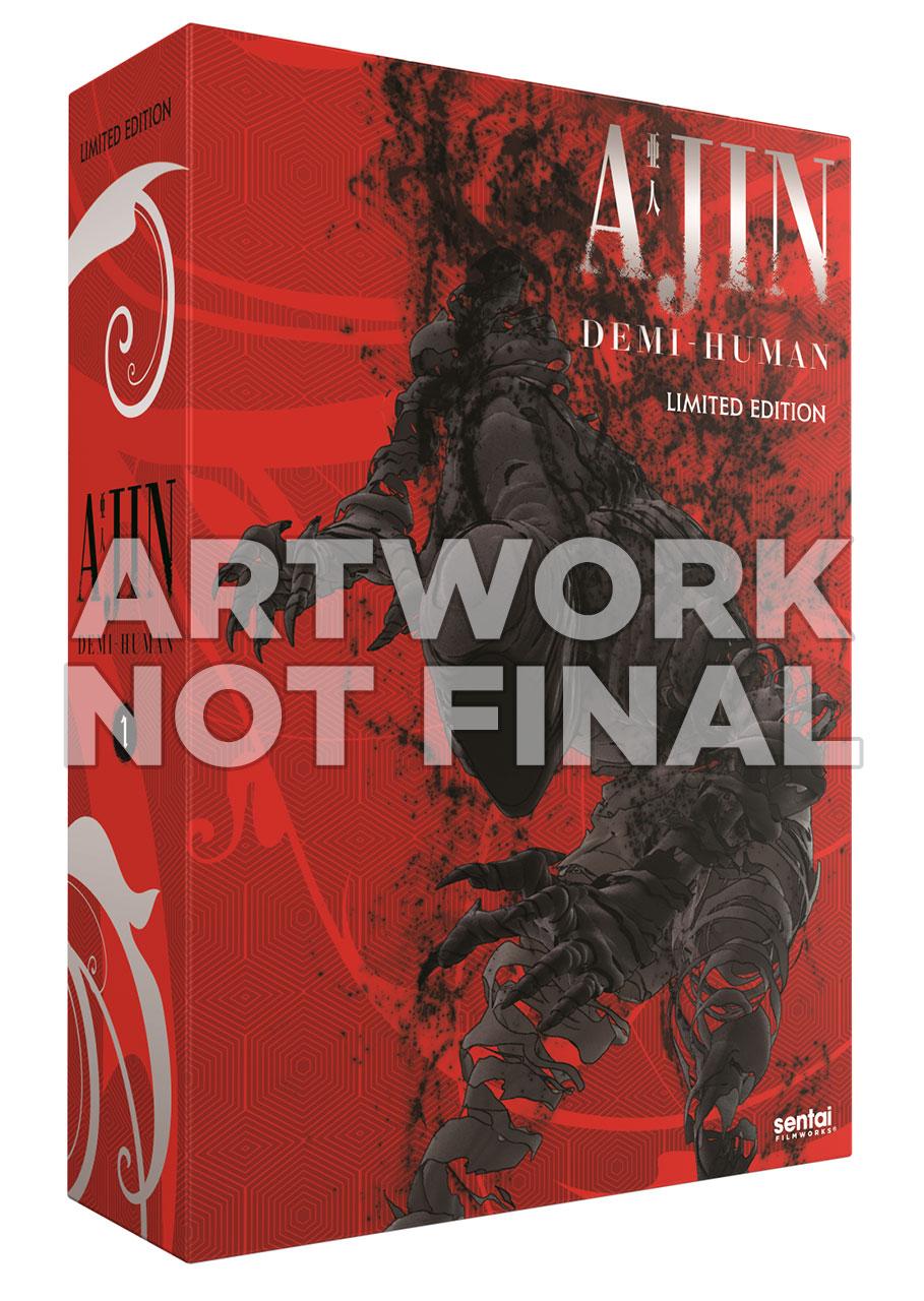 Ajin Demi-Human Season 1 Premium Edition Box Set Blu-ray/DVD