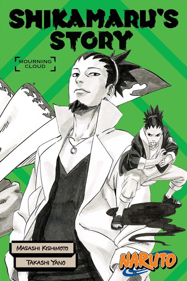 Naruto Shikamarus Story Mourning Clouds Novel