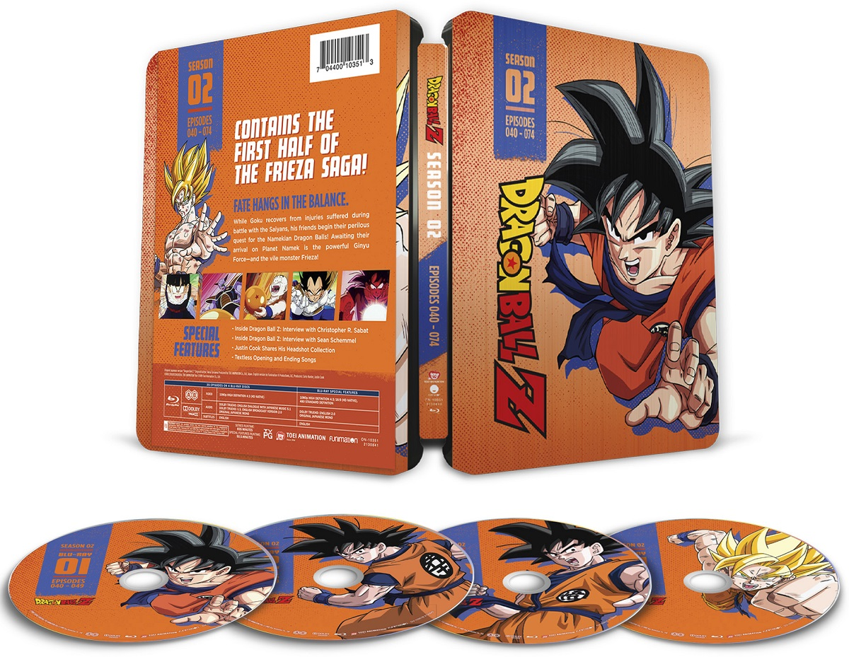 Dragon Ball Z Season 2 Steelbook Blu-ray