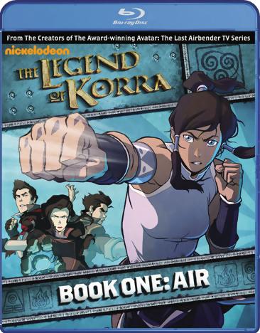 The Legend of Korra Book 1 Air Blu-ray