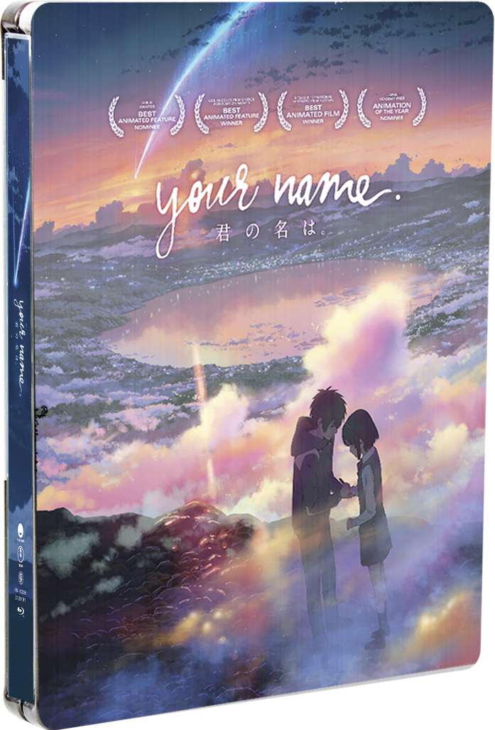 Your Name Steelbook Blu-ray