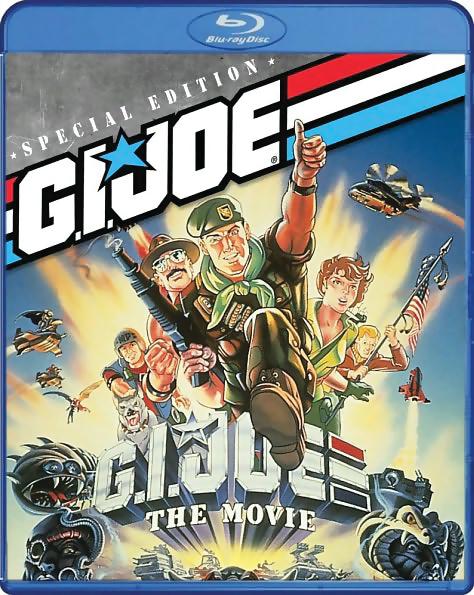 G.I. Joe A Real American Hero The Movie Blu-ray/DVD