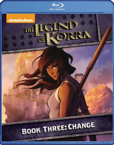 The Legend of Korra Book 3 Change Blu-ray