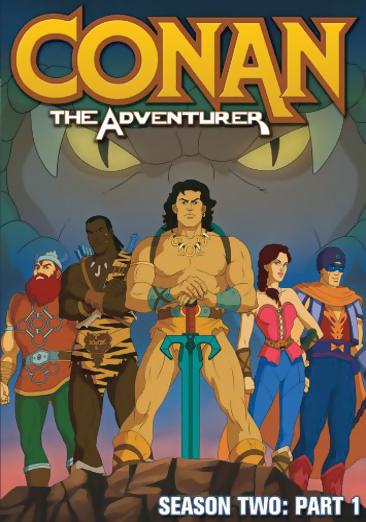 Conan the Adventurer Season 2 Part 1 DVD