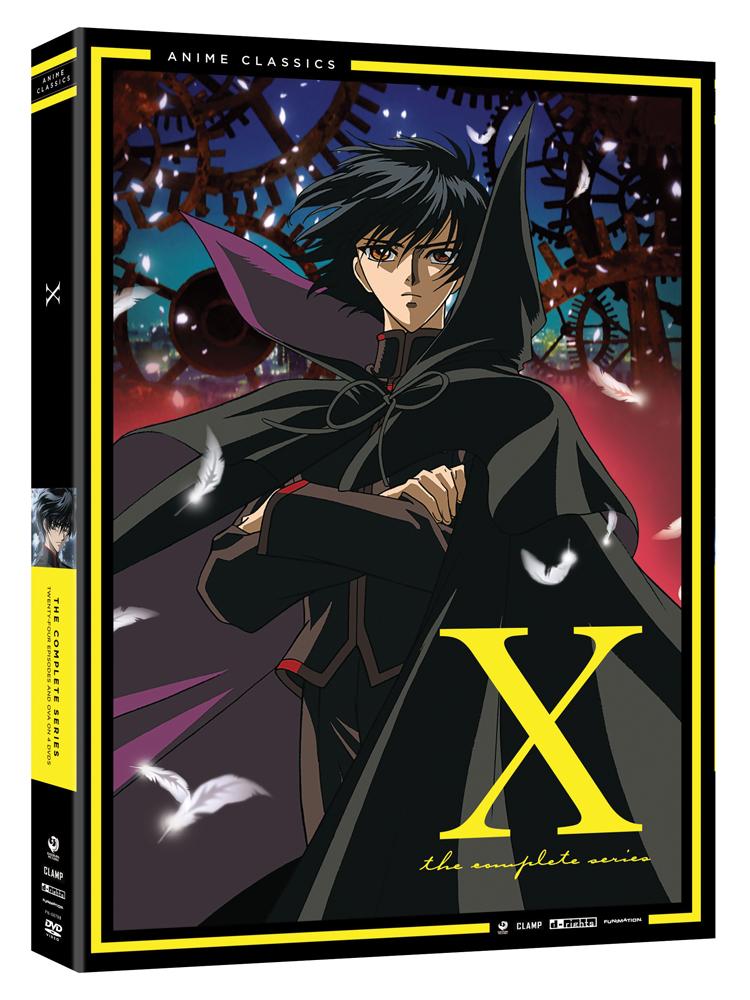 X TV Series Complete Series DVD Anime Classics