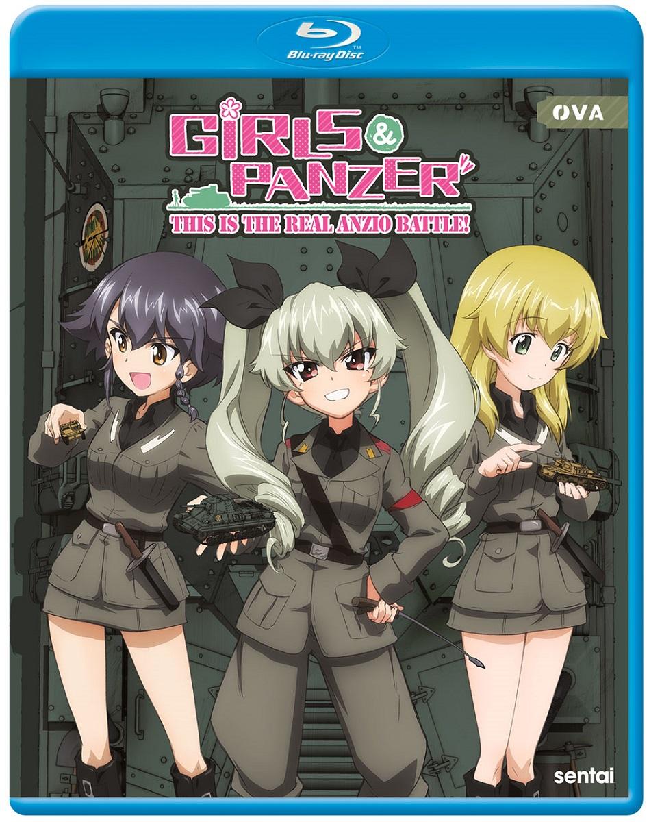 Girls und Panzer This Is The Real Anzio Battle! Blu-ray