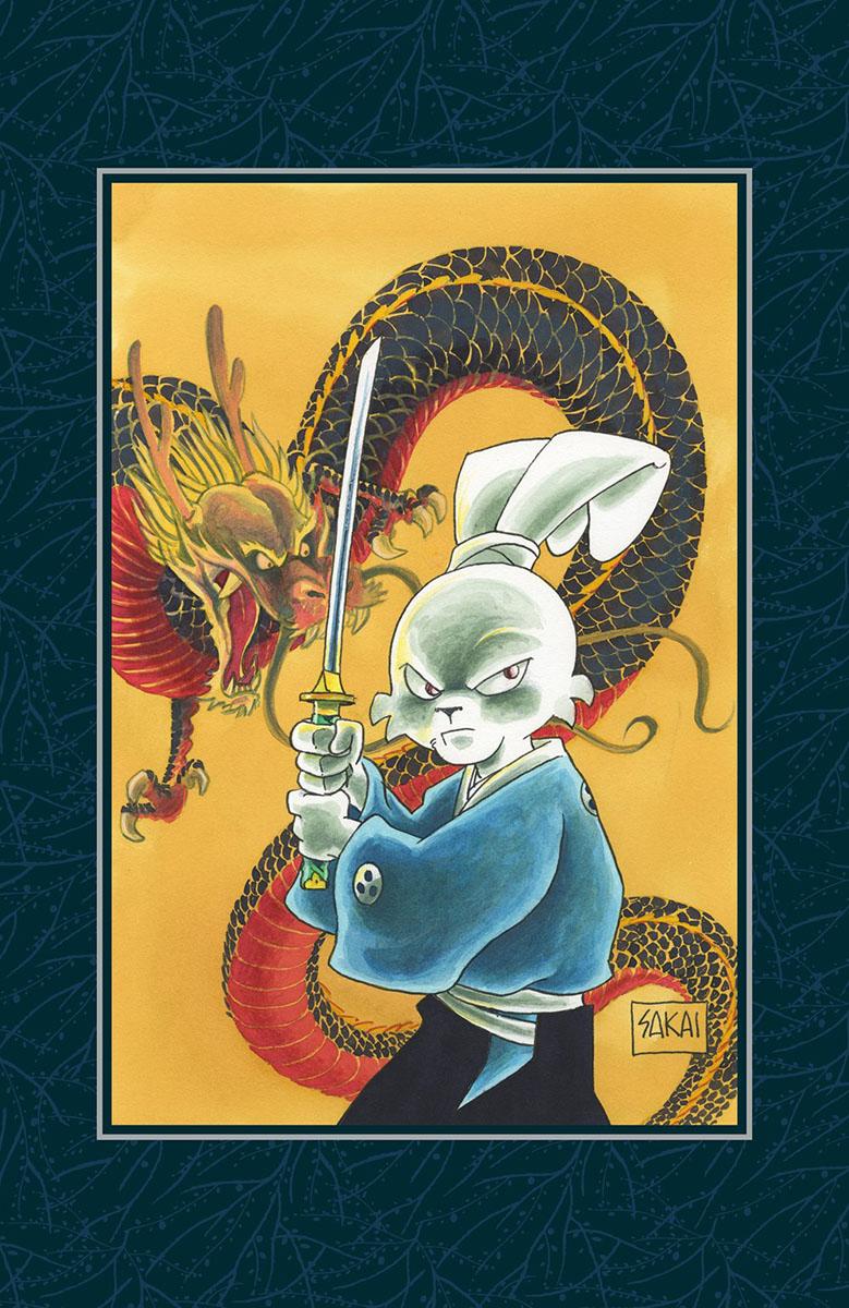 Usagi Yojimbo Saga Manga Volume 1 Limited Edition (Hardcover)