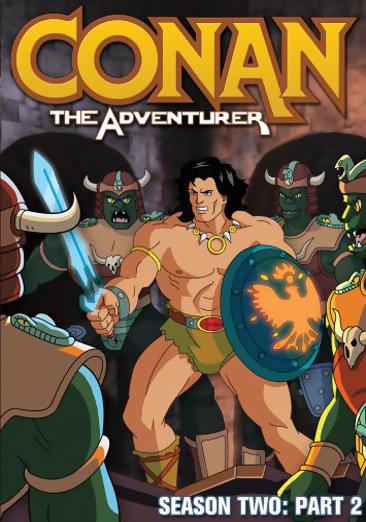Conan the Adventurer Season 2 Part 2 DVD