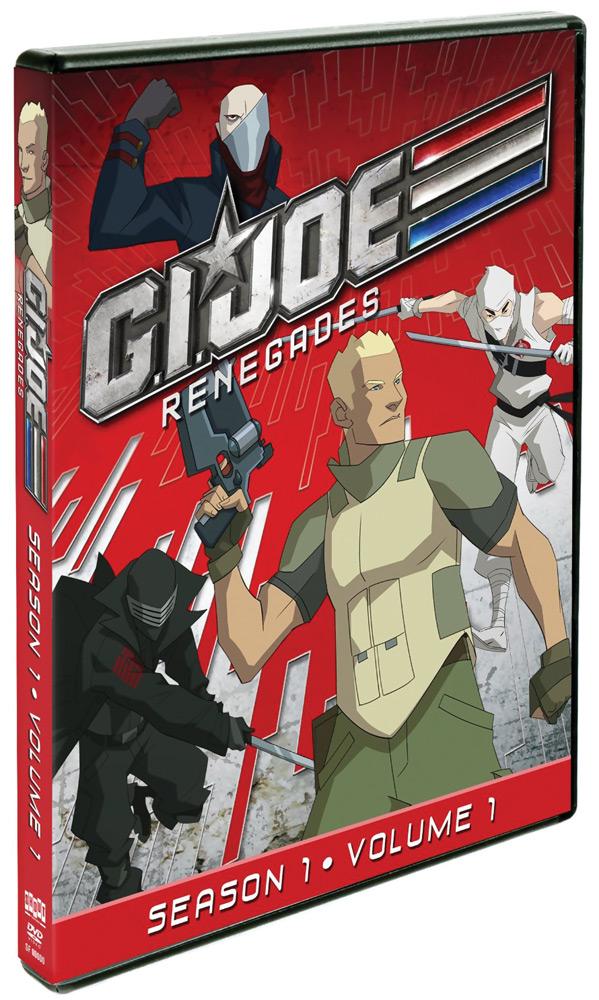 G.I. Joe: Renegades Season 1 DVD 1
