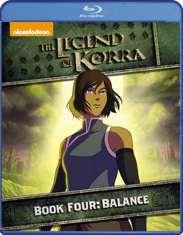 The Legend of Korra Blu-ray Book 4 Balance